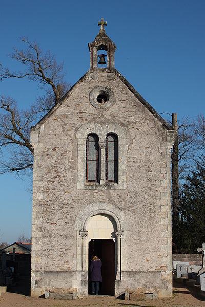 Chapelle du cimetière, Fr-44-Héric.