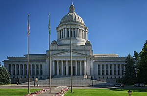 The Washington State Capitol Leglislative Buil...
