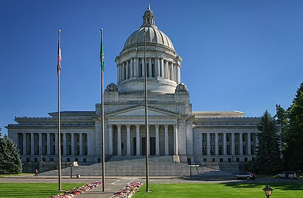 Washington State Capitol Historic District in Thurston County WACapitolLegislativeBldg.jpg