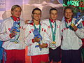 WDSC2007 Day1 Awards Women800FreestyleRelay Gold.jpg