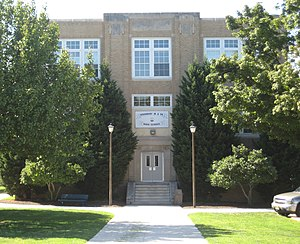 Woodbury Junior-Senior High School - Image: WH Smain
