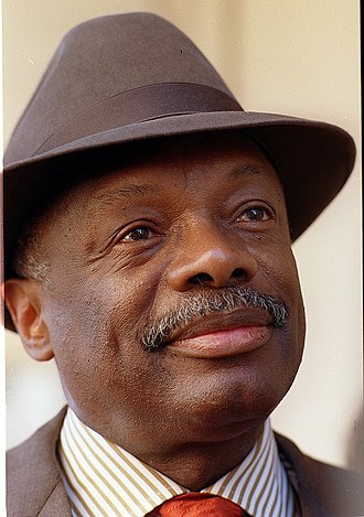 Willie Brown (politician) - Brown sporting one of his many fashionable hats.