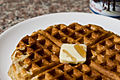 Waffle with butter and maple syrup.jpg