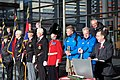Walk on Wales- £1million charity walk in aid of Welsh soldiers sets off from the Senedd-Walk on Wales- Taith gerdded elusennol gwerth £1 miliwn yn cychwyn o'r Senedd (10687403186).jpg