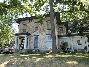 National Register of Historic Places listings in east Davenport, Iowa - Image: Walker Adams House