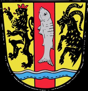 Eckental - Image: Wappen Eckental am Rathaus