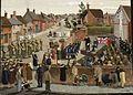 War Weapons Week in a Country Town (1941) (Art.IWM ART LD 1291).jpg