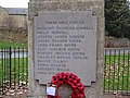 War memorial in Walgrave - geograph.org.uk - 1100670.jpg