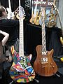 Warrior guitars, painted & natural wood, 2010 Summer NAMM.jpg