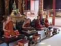 Wat Phra Sing - Ubosot - Wax statues north - P1140269.jpg