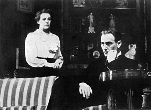 Lillian Hellman - Mady Christians and Paul Lukas in the original Broadway production of Watch on the Rhine (1941)