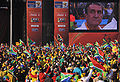Watching South Africa & Mexico match at World Cup 2010-06-11 in Soweto 3.jpg