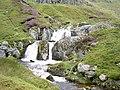 Waterfall on Afon Goch - geograph.org.uk - 934428.jpg