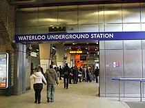 Waterloo tube stn entrance.JPG