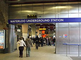 Waterloo tube stn entrance.JPG