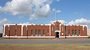 Custer County, Oklahoma - Image: Weatherford Armory