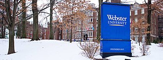 Webster University - Webster University's Webster Hall in 2014