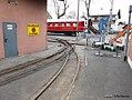 Weiche der Feldbahn im Deutschen Dampflokomotiv-Museum in Neuenmarkt, Oberfranken (14314472535).jpg