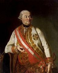 Portrait of Count András Hadik de Futak.