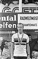Wereldkampioenschappen Wielrennen op Nurburgring 1966, Dolman op podium, Bestanddeelnr 919-5000.jpg