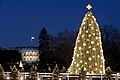 White House and the National Christmas Tree in Washington, D.C., Dec. 16, 2009.jpg