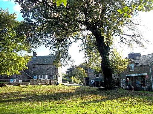 Widecombe-in-the-Moor - October 2013