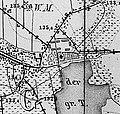 Wiednitz. Meßtischblatt, 1-25.000, Sekt. Straßgräbchen, 1883.jpg