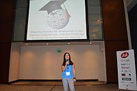 WikiLearningPresentation1Wikimania2015 03.JPG