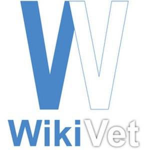 WikiVet - Image: Wiki Vet Logo