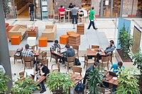 Wikimedia Hackathon Vienna 2017-05-20 Atrium 03.jpg