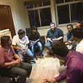 Wikimedians during 59th Bangalore meetup at Wikimedia India office.jpeg