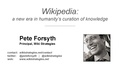 Wikipedia and knowledge curation presentation.pdf