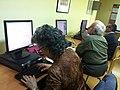 Wikipedia workshop for elder people at Terrassa- november 2011 (9).JPG