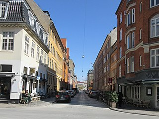 Wildersgade street in Copenhagen Municipality, Denmark