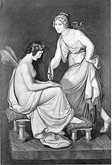 Das Märchen von Amor und Psyche: Psyche und ihre Schwester