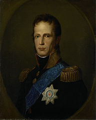 William I, Sovereign Prince of the United Netherlands, later King of the Netherlands