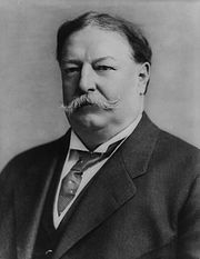 Bonesman William Howard Taft (S&B, 1878): another proponent Bonesman for drug prohibition. He is the  Bonesman son of Bonesman Alphonso Taft (S&B, 1833), co-founder of Skull and Bones with the opium smuggling Russell family. His Bonesman father Alphonso Taft was appointed Secretary of War under President Ulysses S. Grant. Subsequently, Alphonso Taft's son, Bonesman William Howard Taft, was the Governor General (1901-04) of the U.S. seized Phillipines, and then held the same position as his Bonesman father, Secretary of War, this time for President Theodore Roosevelt. William H. Taft went on to be the Chief Justice of the Supreme Court during Prohibition.