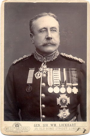 William Lockhart (Indian Army officer) - Image: William Lockhart d 1900