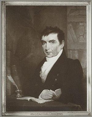 William Smith Shaw - Portrait by Gilbert Stuart, 1824