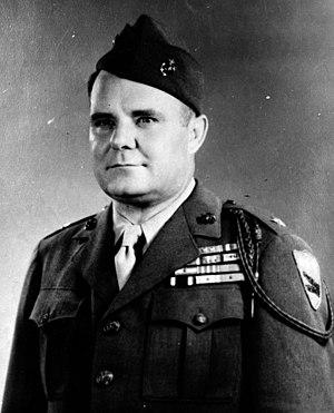 William W. Rogers - BG William W. Rogers, USMC
