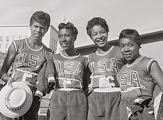 Martha Hudson American sprinter