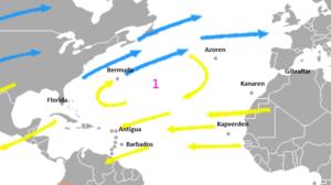 Bildergebnis für Segelroute Atlantik