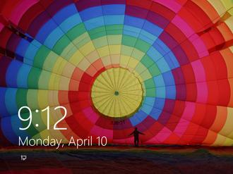 Winlogon - Windows 8 pre-login screen, requiring user to press Ctrl+Alt+Delete