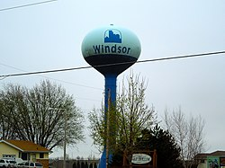 Windsor water tower