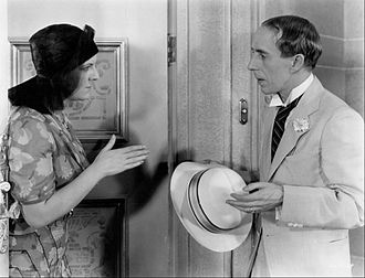 The Life of the Party (1930 film) - Winnie Lightner and Charles Butterworth in a scene from the 1930 film.