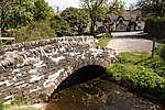 Packhorse bridge 60 m north east of Royal Oak Farm