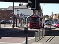 Witton Station - railway bridge - claret and blue - Dennis fire engine (7951220502).jpg