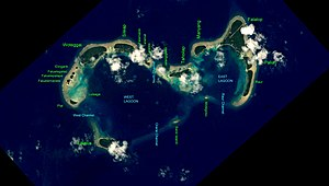 Woleai - NASA picture of Woleai Atoll