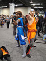 WonderCon 2012 - Katara and Aang of the Last Airbender (6873503630).jpg