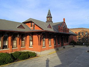 Woonsocket Depot - Woonsocket Depot in February 2016